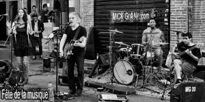 Mick Giani Fête de la musique Toulouse 2016